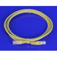 Cheap Free Sample 24AWG / 26AWG Cat 5e Cat 6 Patch Cord With RJ45 Cable OEM wholesale