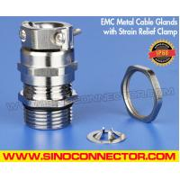 Cheap EMC / RFI Cable Glands Brass Metal IP68 with Strain Relief Clamp wholesale
