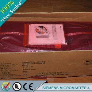 Cheap SIEMENS Micromaster 4 6SE6440-2UC24-0CA1 / 6SE64402UC240CA1 wholesale