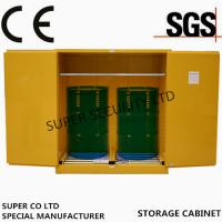 China Hazardous Flammable Liquid Storage Cabinet in  labs, minel, stock, chemical company stock, workshop on sale