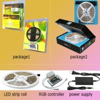 Cheap 50000h Multi Color 50 / 50 Led Strip Light Kits Flexible FPC + SMD wholesale