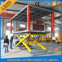 Cheap Hydraulic Electric Type Portable Fixed In Ground Car Lift For Parking With CE wholesale