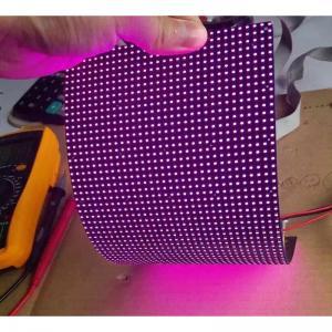 Cheap IP45 P4mm RGB flexible led video screen , flexible wall panels Cree Chip wholesale