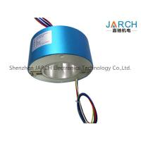 Industrial 200mm Through Bore Slip Ring IP54 For Semiconductor Handling Systems