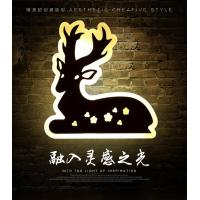 Cheap Deer Acrylic LED wall lights /indoor led wall lighitng for pube decoration wholesale