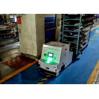 Tugger Type Smart AGV Track Navigation For ASRS System Low Using Cost