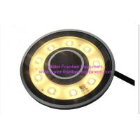 Quality Diameter 110mm Underwater Fountain Lights 5w Submersible Pond Fountain Lighting for sale
