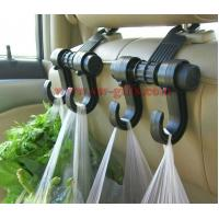 Cheap New Double Auto Car Back Seat Headrest Hanger Holder Hooks Clips For Bag Purse Cloth Grocery Automobile Accessories wholesale