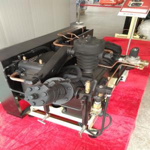 Cheap 40 Bar Pressure Piston Air Compressor , Low Noise Oil Free Air Compressor wholesale
