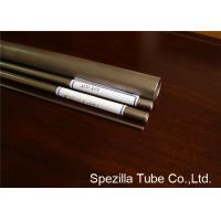 Cheap Commercially 3 Inch Titanium Pipe , Titanium Exhaust Tubing ASTM B862 UNS R50400 wholesale