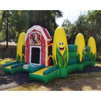 Cheap Fall Event Inflatable Sports Games / Inflatable Corn Maze Obstacle Course wholesale