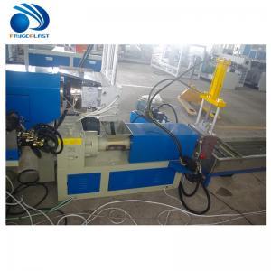 Cheap 500kg / H Plastic Pelletizing Machine , PLC Pet Bottle Recycling Plant wholesale