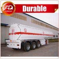 Cheap China hot sale 42 m3 tri-axle farm water tank trailer with Steel or Aluminum Body wholesale