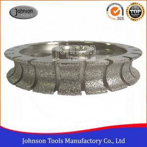 Cheap Customized Full Bullnose Vacuum Brazed Diamond Tools For Shaping Stones wholesale