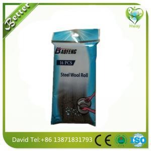 polishing steel wool roll factory price on sales