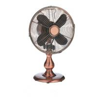 SAA 2 Speed Vintage Electric Fan 12inch Metal Desktop ETL Adjustable Tilt