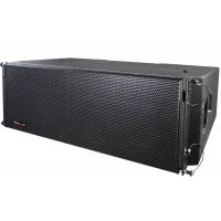 Cheap 12 Inch 500W Passive Line Array Speakers Black Spot / Waterproof Polyester Painted wholesale