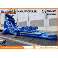 Cheap Giant Outdoor Inflatable Water Slides For Kindergarten / Hotel / School wholesale