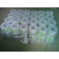China White 36 Rolls Packing Toilet Tissue Paper Roll ,  Recycle Tissue on sale