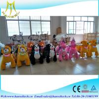 China Hansel high quality plush electric amusement rides animal battery operated elephant toy on sale