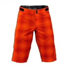 Buy cheap Orange Sublimation Custom Mountain Bike Downhill Shorts from wholesalers