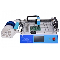 Cheap 29 Feeders 2 Heads CHMT48VA Desktop Automatic SMD / SMT Pick And Place Machine + Double Vision Camera wholesale