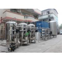 Cheap Stainless 304 Reverse Osmosis Water Treatment Machine With Container Automatic Valve wholesale