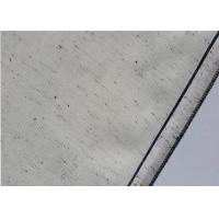 Cheap Stain White Denim Sewing Fabric , Lightweight Washable Upholstery Fabric 8.9oz wholesale