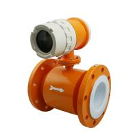 Cheap High quality Compact Type Electromagnetic Flow Meter to highest 15m/s flow rate wholesale
