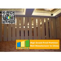 Cheap Folding Acoustic Movable Partition Walls , Banquet Room moving partition wall for sale