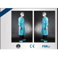 Cheap Latex Free Disposable Medical Gowns , Disposable Protective Wear S - 3XL wholesale
