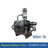 Cheap 40 M3/H Manual Softener Valve , Water Softener Control Valve 61240(F112AS) wholesale