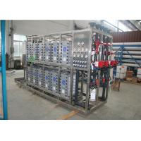 China Industrial EDI Water Treatment Plant SS Water Desalination For Medicine on sale