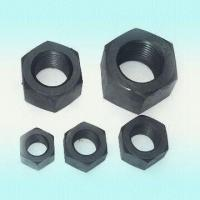 Cheap Carbon Steel Nuts, Available in Black, Galvanized, Nickel, Cadmium and Teflon Plating wholesale