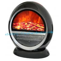 Cheap Contemporary Circle PTC Rotating Fireplace Stove Heater With Overheat Protection wholesale