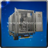 China Removable Water Treatment Plant/Vehicle Equipment on sale