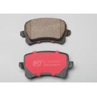 Cheap Red Woven 98735293901 Auto Brake Pads For High End Passenger Car wholesale