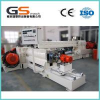 Cheap Delta Inverter Single / Twin Screw Compounding Extruder With CE ISO Certification wholesale