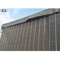 Buy cheap Military Flood Barriers Mesh Gabion Box Recoverable Units 3 Years Warranty from wholesalers