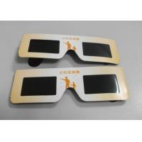 Cheap Eco-friendly solar eclipse eyewear glasses for watching eclipse wholesale