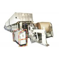 Cheap 380V Corrugated Paper Making Machine High Output Three Press For Making Paper Roll wholesale