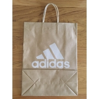 Cheap twisted handle paper bags wholesale