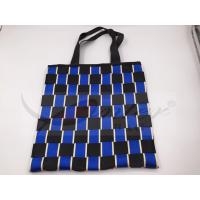 Cheap Two Tone Nylon Webbing Polyester Handbags For Shopping Customized Design wholesale