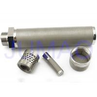 China 316 L Sintered Stainless Steel Filter Elements High Mechanical Strength on sale