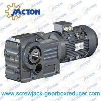 Cheap 45KW 55KW 75KW K Series helical gear spiral bevel gear reducer Specifications wholesale