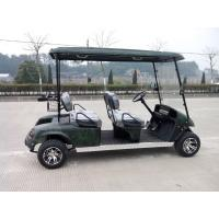 Cheap 4 seats solar powered electric Customized Golf Carts wholesale