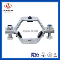 Cheap Hexagon Shape Sanitary Pipe Holder With Grommets SMS  ISO Certificated wholesale