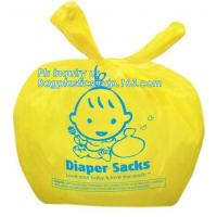 Cheap Nappy Sacks Baby Diaper Bags Scented Baby Nappy Sacks  With Tie Hand wholesale