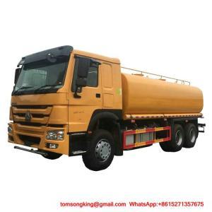 Cheap Water Bowser Truck  HOWO 6x4  25000L Water Tank WhatsAp+8615271357675 wholesale
