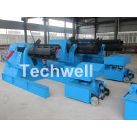 Cheap 7 / 10 / 15 Ton Weight Capacity Steel Coil Decoiler With Adjustable Working Speed wholesale